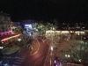 Nachtaussicht von unserem Fenster